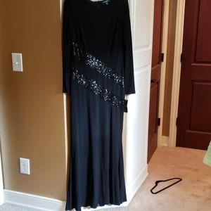 Ralpf Lauren black gown